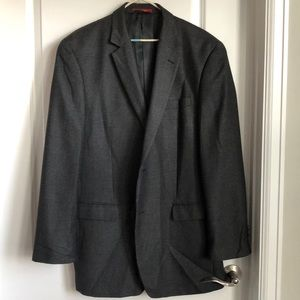 IZOD men's charcoal gray sport coat. 42L